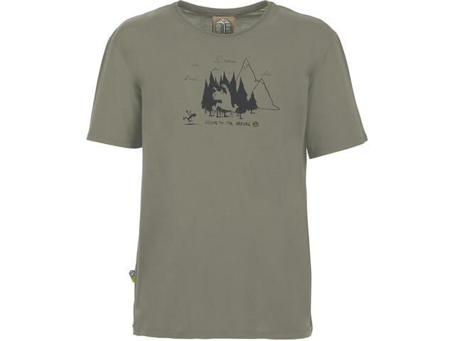 E9 Living Forest Camiseta Hombre, gris